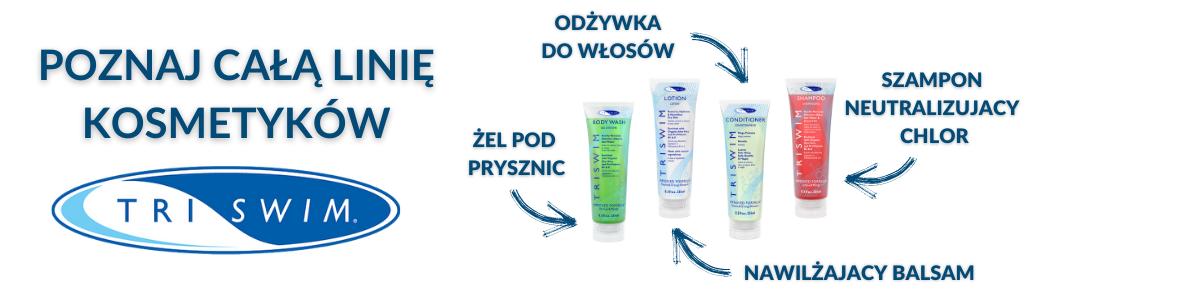 Linia kosmetyków neutralizujących chlor